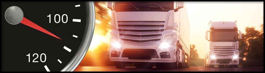 Überschreitung Höchstgeschwindigkeit LKW