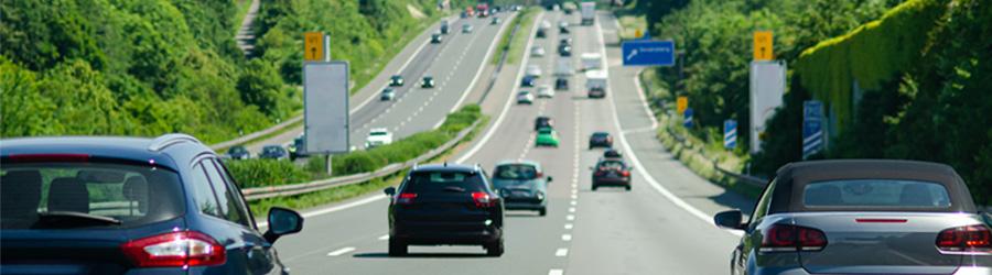 Blitzer Messstellen auf deutschen Autobahnen und außerhalb geschlossener Ortschaften